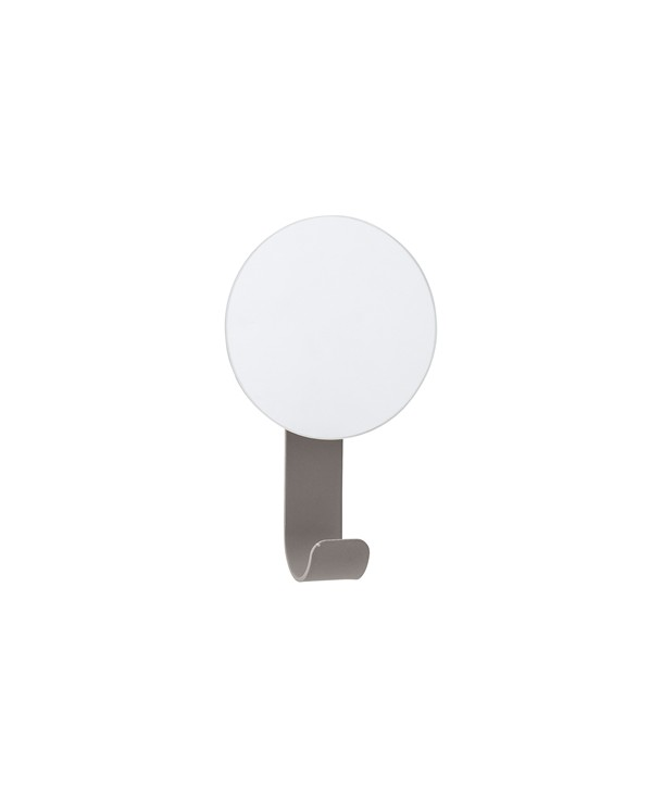 MIRRORW/HOOK GREY H12X7