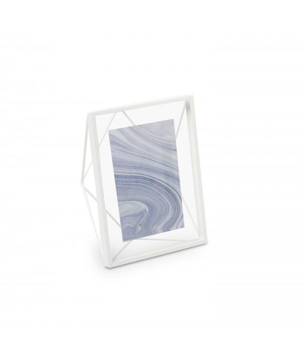 Cadre prisma 10x15 blanc