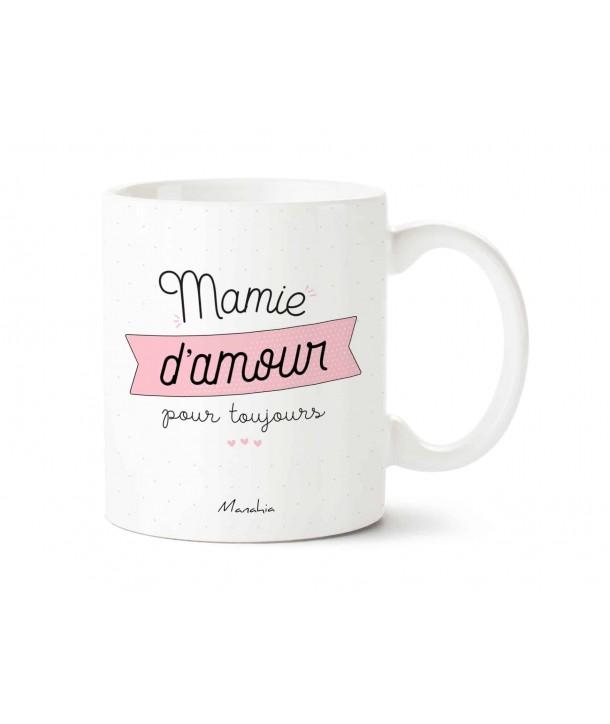 """Mug """"mamie d'amour pour toujours"""""""