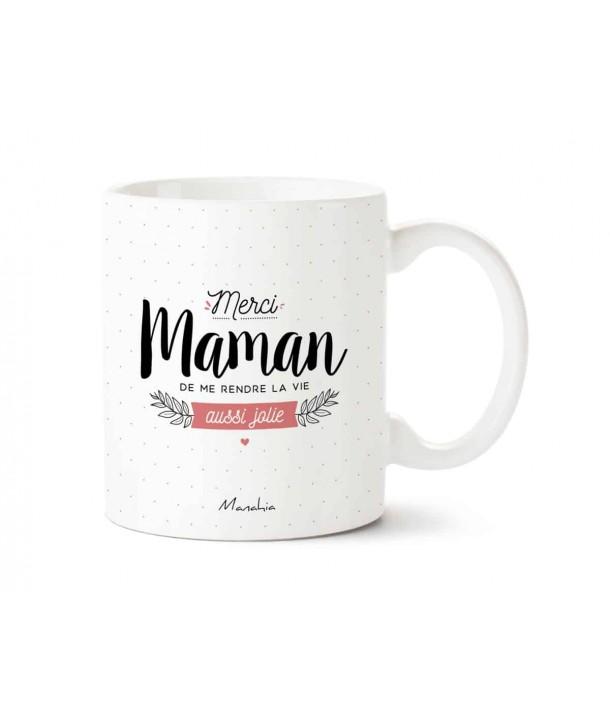 "Mug ""merci maman..."""