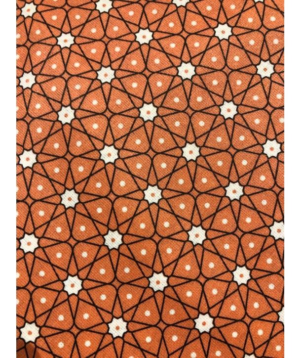 Nappe Ceramik corail 150x150cm