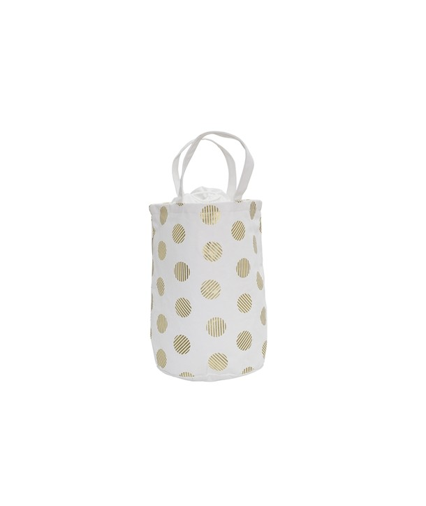 STORAGE BAG WHITE/GOLD 30X40